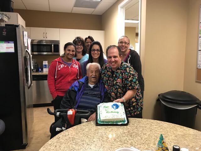Jerome turns 100