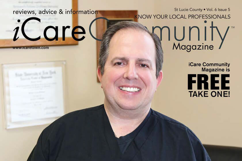 Dr. Solomon featured in iCare Magazine