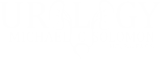 Michael Solomon Logo White